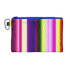 Abstract Background Pattern Textile 2 Canvas Cosmetic Bag (large)