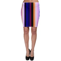 Abstract Background Pattern Textile 3 Bodycon Skirt