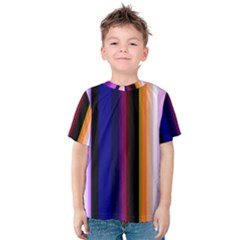 Abstract Background Pattern Textile 3 Kids  Cotton Tee