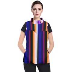 Abstract Background Pattern Textile 3 Women s Puffer Vest