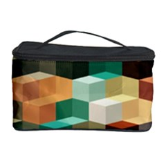 Art Design Color Pattern Creative 3d Cosmetic Storage Case
