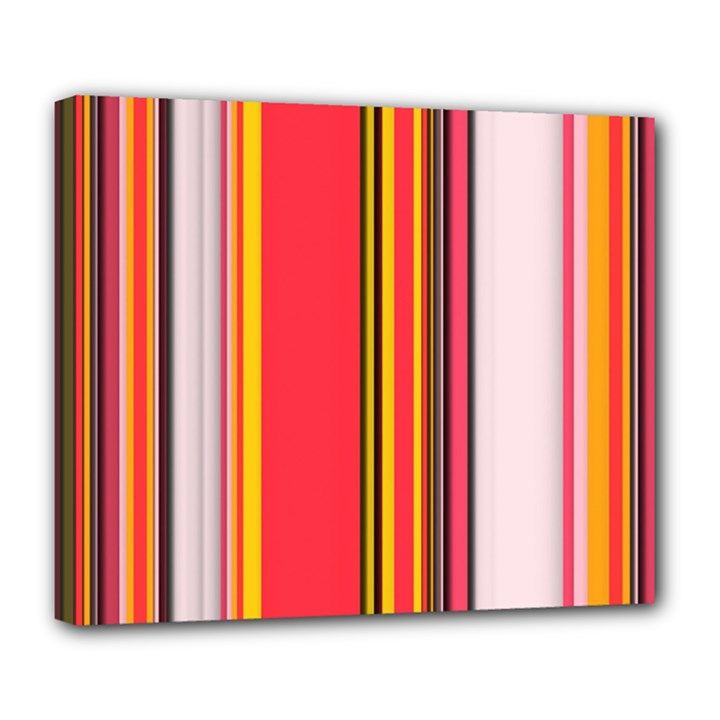Abstract Background Pattern Textile Deluxe Canvas 24  x 20