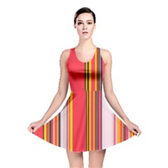 Abstract Background Pattern Textile Reversible Skater Dress