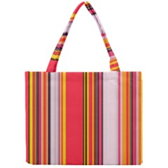 Abstract Background Pattern Textile Mini Tote Bag
