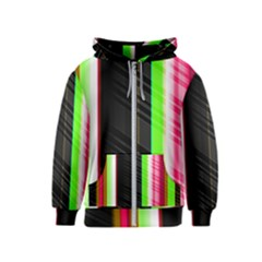 Abstract Background Pattern Textile Kids  Zipper Hoodie