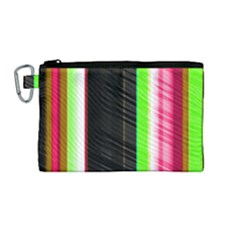 Abstract Background Pattern Textile Canvas Cosmetic Bag (medium)