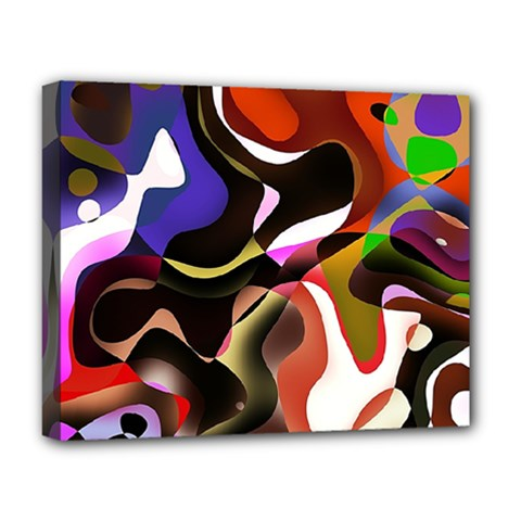 Abstract Background Design Art Deluxe Canvas 20  X 16