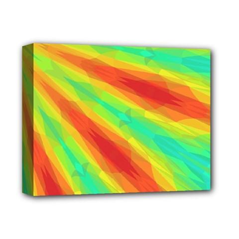 Graphic Kaleidoscope Geometric Deluxe Canvas 14  X 11