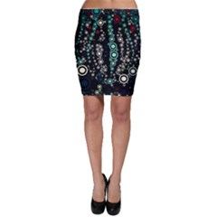 Modern Art Design Digital Bodycon Skirt
