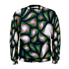 Fuzzy Abstract Art Urban Fragments Men s Sweatshirt