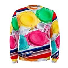 Palette Brush Paint Box Color Men s Sweatshirt