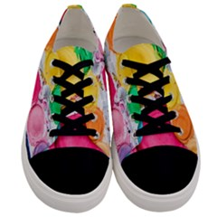 Palette Brush Paint Box Color Men s Low Top Canvas Sneakers