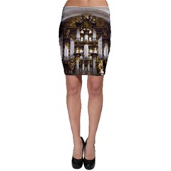 Organ Church Music Organ Whistle Bodycon Skirt
