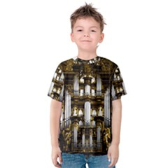 Organ Church Music Organ Whistle Kids  Cotton Tee