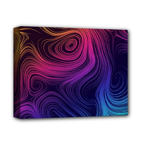 Abstract Pattern Art Wallpaper Deluxe Canvas 14  X 11