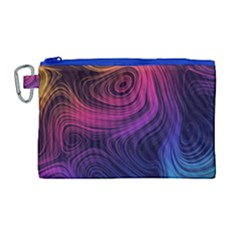 Abstract Pattern Art Wallpaper Canvas Cosmetic Bag (large)