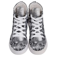 Holstein Fresian Cows Fresian Cows Men s Hi Top Skate Sneakers