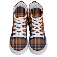 Abstract Background Pattern Textile 6 Men s Hi Top Skate Sneakers