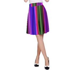 Abstract Background Pattern Textile 4 A Line Skirt