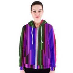 Abstract Background Pattern Textile 4 Women s Zipper Hoodie