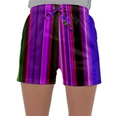 Abstract Background Pattern Textile 4 Sleepwear Shorts