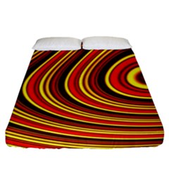Fractal Art Mathematics Generated Fitted Sheet (king Size)