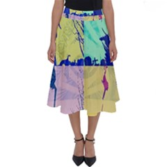 Girlfriend  respect Her   Perfect Length Midi Skirt