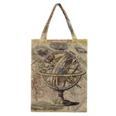 Map Compass Nautical Vintage Classic Tote Bag