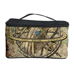 Map Compass Nautical Vintage Cosmetic Storage Case