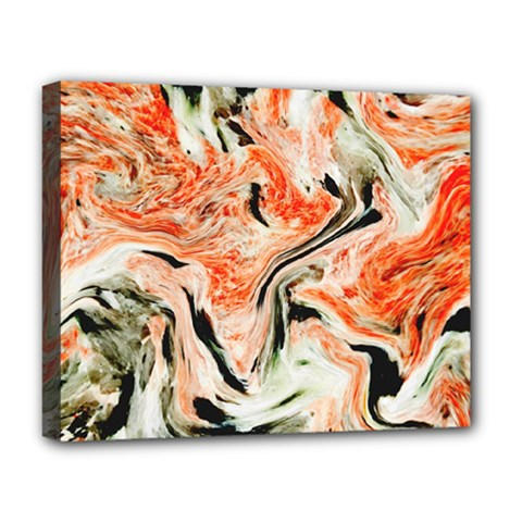 Marble Texture White Pattern Deluxe Canvas 20  X 16