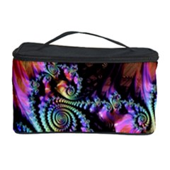 Fractal Colorful Background Cosmetic Storage Case