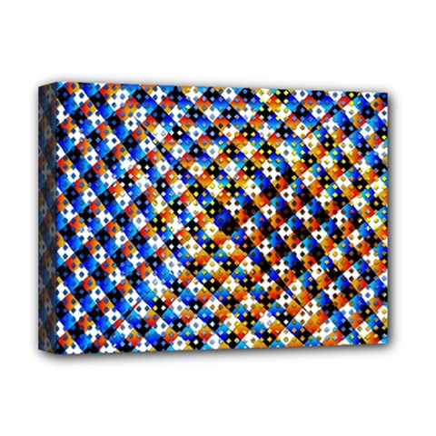 Kaleidoscope Pattern Ornament Deluxe Canvas 16  X 12