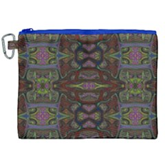 Pattern Abstract Art Decoration Canvas Cosmetic Bag (xxl)