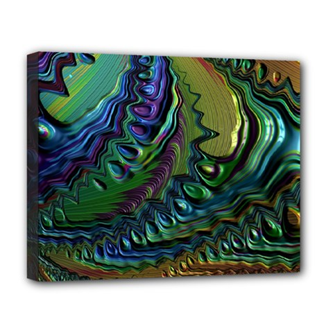 Fractal Art Background Image Deluxe Canvas 20  X 16