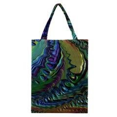 Fractal Art Background Image Classic Tote Bag