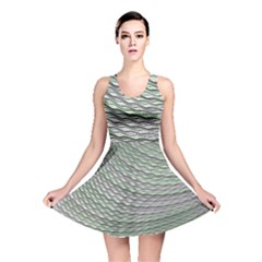 Art Design Style Decorative Reversible Skater Dress