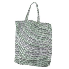 Art Design Style Decorative Giant Grocery Zipper Tote