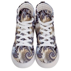 Fractal Art Design Fantasy 3d Women s Hi Top Skate Sneakers
