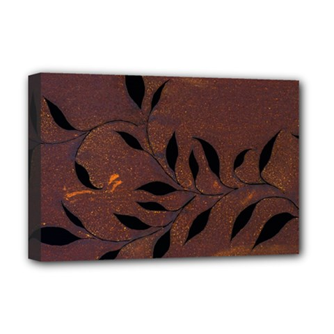 Texture Pattern Background Deluxe Canvas 18  X 12