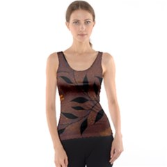 Texture Pattern Background Tank Top