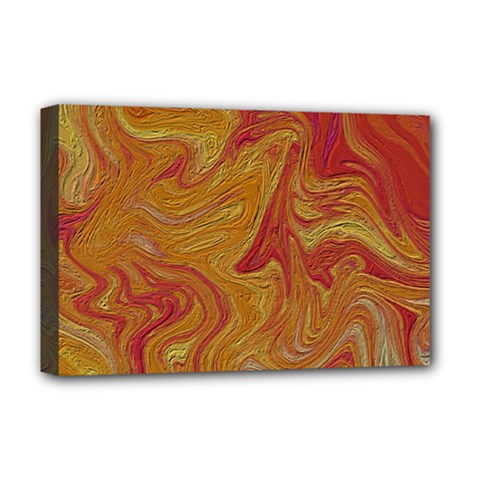 Texture Pattern Abstract Art Deluxe Canvas 18  X 12
