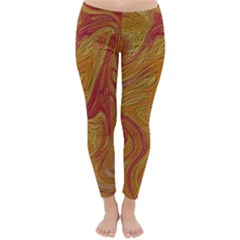 Texture Pattern Abstract Art Classic Winter Leggings