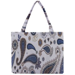 Pattern Embroidery Fabric Sew Mini Tote Bag