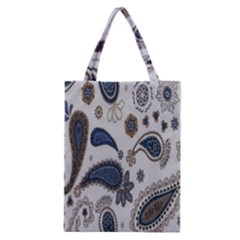 Pattern Embroidery Fabric Sew Classic Tote Bag