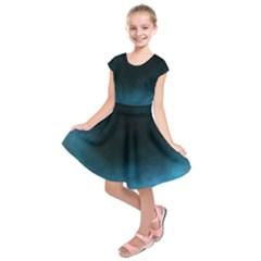 Ombre Kids  Short Sleeve Dress