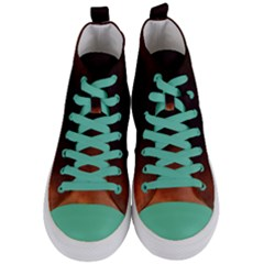 Ombre Women s Mid Top Canvas Sneakers