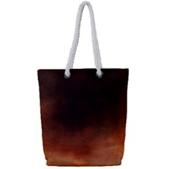 Ombre Full Print Rope Handle Tote (small)