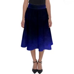 Ombre Perfect Length Midi Skirt