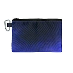 Ombre Canvas Cosmetic Bag (medium)