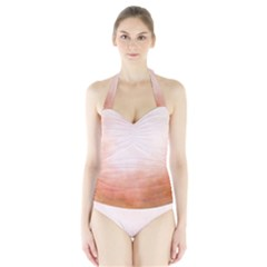 Ombre Halter Swimsuit